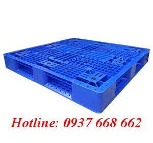 Pallet nhựa Pl-16lk. kích thước: 1200 x 1200 x 150 mm.