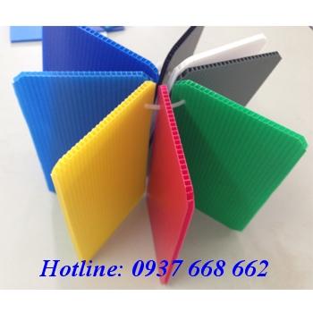 Tấm nhựa danpla thường 3mm giá rẻ