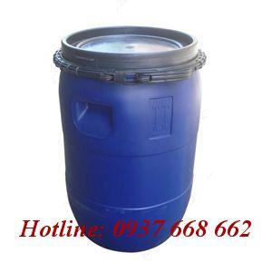 Thùng phuy nhựa(đựng hóa chất) 50L