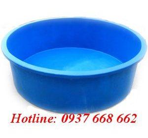 Thùng nhựa tròn dung tích 3000L- KT: Ø229-200 x 87 cm