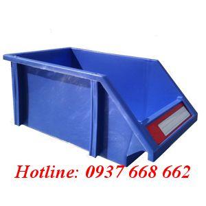 Khay linh kiện DT3 - Kích thước: 340x210x140mm. Màu xanh dương