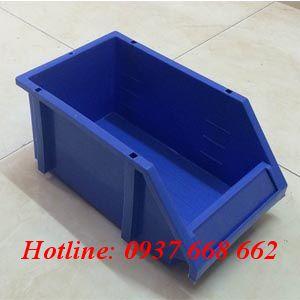 Khay linh kiện DT2. Kích thước : 250x150x110 mm. màu xanh dương