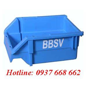 Khay linh kiện A5 . Kích thước: 200x136x90 mm, Màu xanh