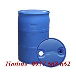Thùng phuy nhựa (đựng hóa chất) 220l nắp nhỏ.