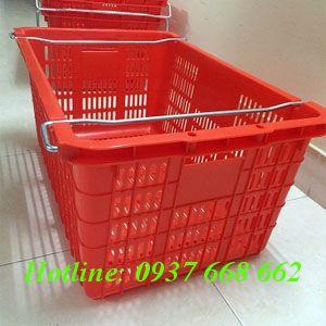 Thùng nhựa rỗng Hs011 - Kt: 715x465x330 mm