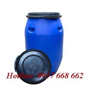 Thùng phuy nhựa (đựng hóa chất) 120L - Đai nhựa