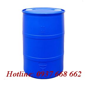 Thùng phuy nhựa (đựng hóa chất) 200L nắp nhỏ.