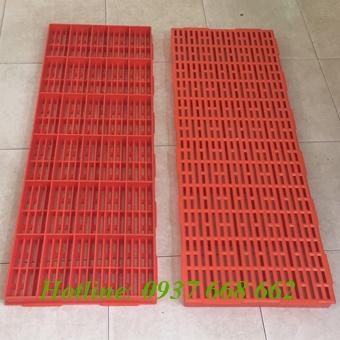 Tấm nhựa lót sàn 40x110. Kích thước: 400x1100x35 mm