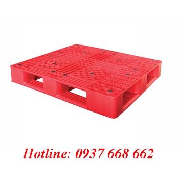 Pallet nhựa pl05lk. Kích thước: 1200x1000x150 mm