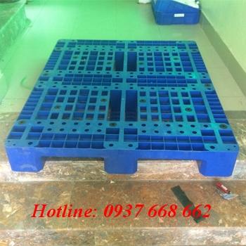 Pallet nhựa PL11Lk. Kích thước: 1200x1000x150 mm