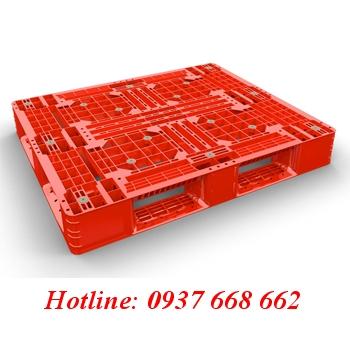 Pallet nhựa PL08Lk. Kích thước: 1200x1000x150 mm