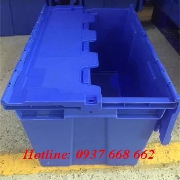 Bán thùng nhựa đặc DCS174. Kích thước: 335x530x280 mm giá rẻ.