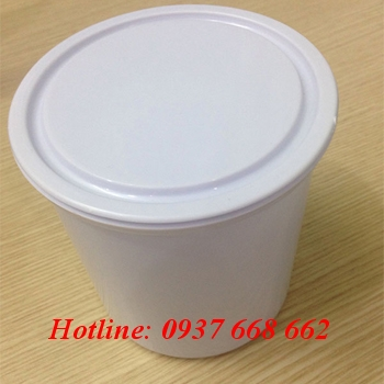 Vỏ thùng sơn 1lit - Kt: Ø123-103 x H120 mm