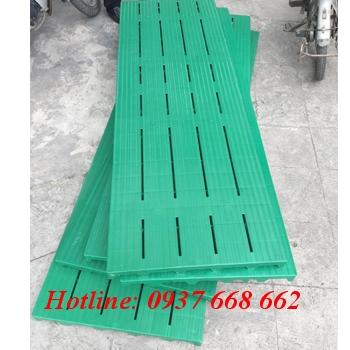 Pallet nhựa lót sàn 1800x600x50 mm