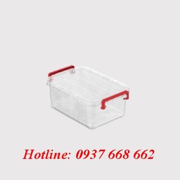 thùng chữ nhật (hộp nhựa) 10l