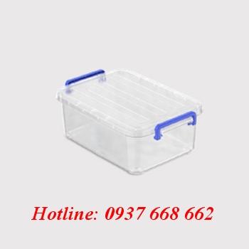 thùng nhựa chữ nhật hộp nhựa 15l