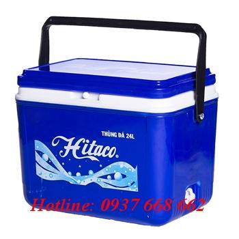 Thùng đá (thùng giữ lạnh) 24l hitaco