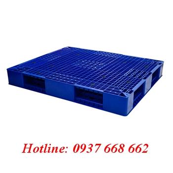 pallet nhựa liên khối 2 mặt PL403
