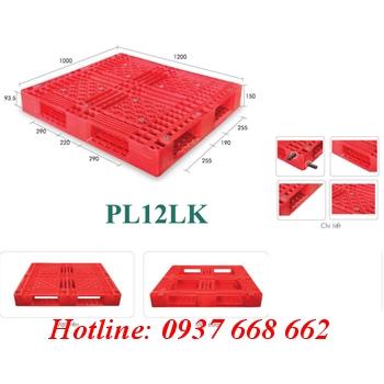 Bán pallet nhựa Pl12lk