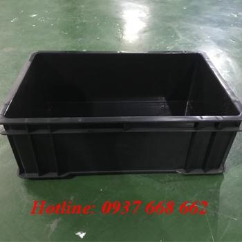 thùng nhựa chống tĩnh điện B4. Kích thước: 510x340x170 mm
