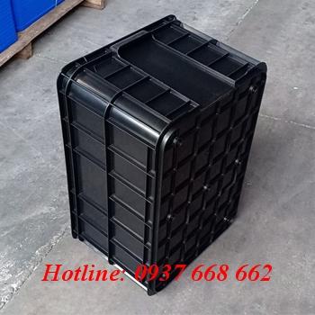 thùng nhựa hs019 màu đen
