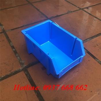 Khay nhựa đựng linh kiện á6, màu xanh dương