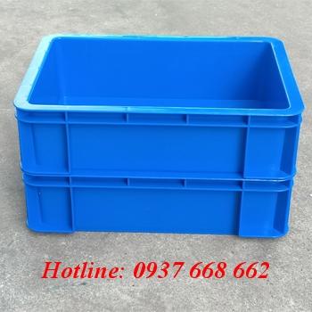 thùng nhựa kích thước 350x250x100 mm