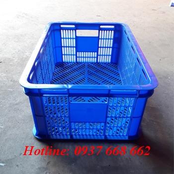 Sóng nhựa hở 2T1 màu xanh dương